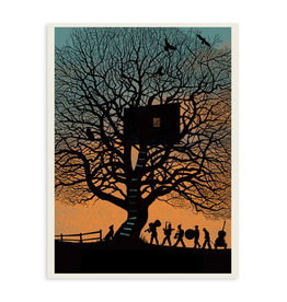 Treehouse Band Print