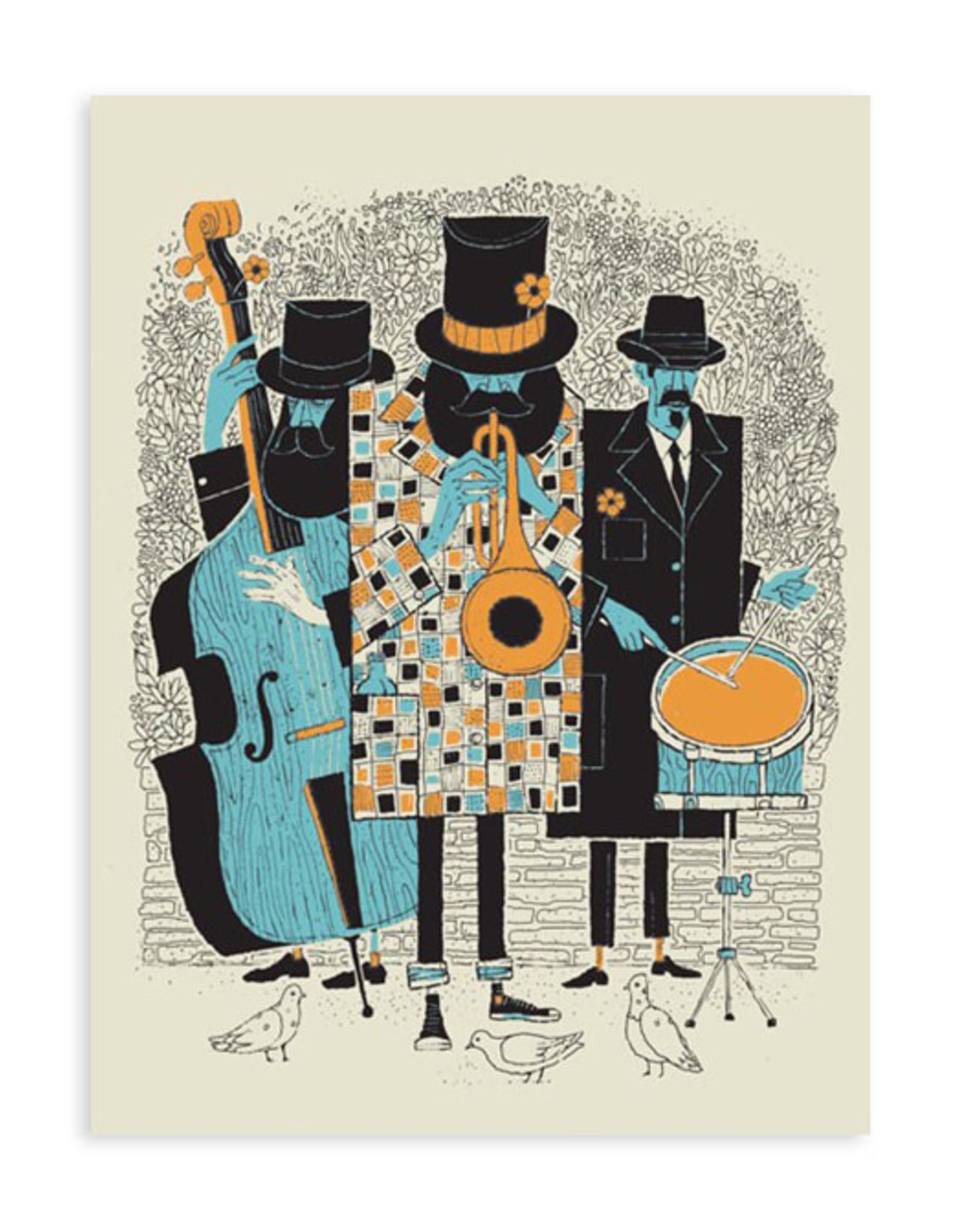 Jazz Men Print