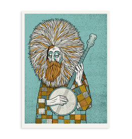 Banjo Man Print