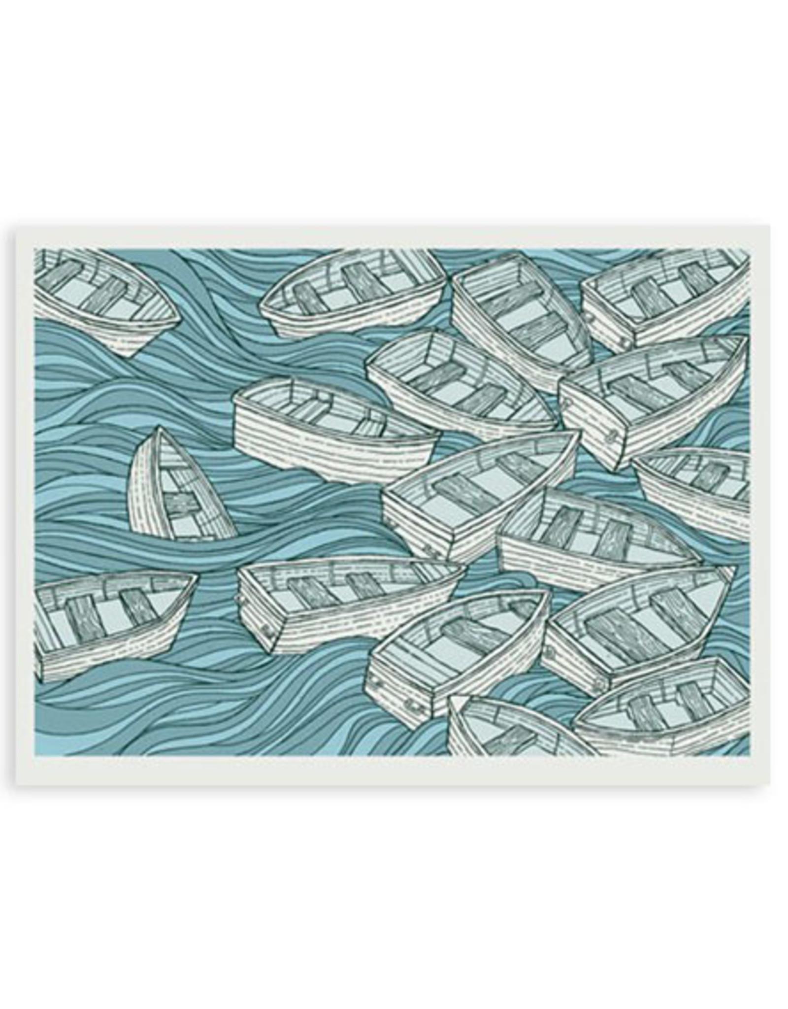 Boats Print