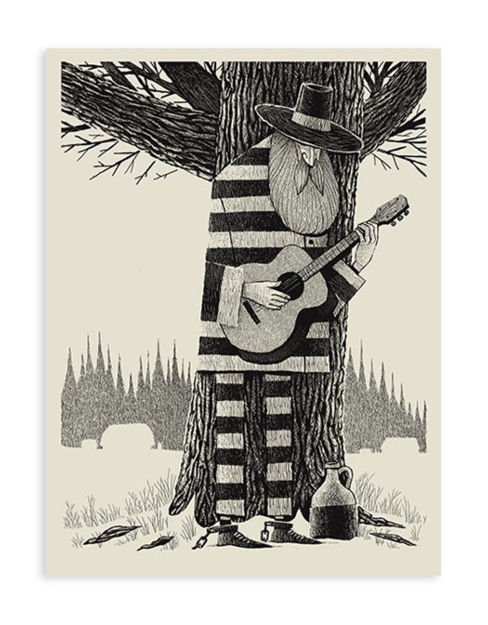 Southbound Guitar Print