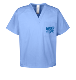Frog & Toad Press Donate knock It Off Scrubs!