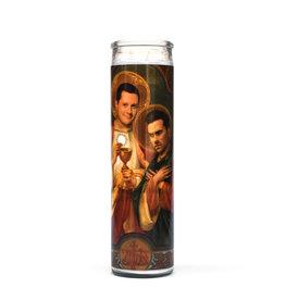 St. David & Patrick (Schitt's Creek) Prayer Candle