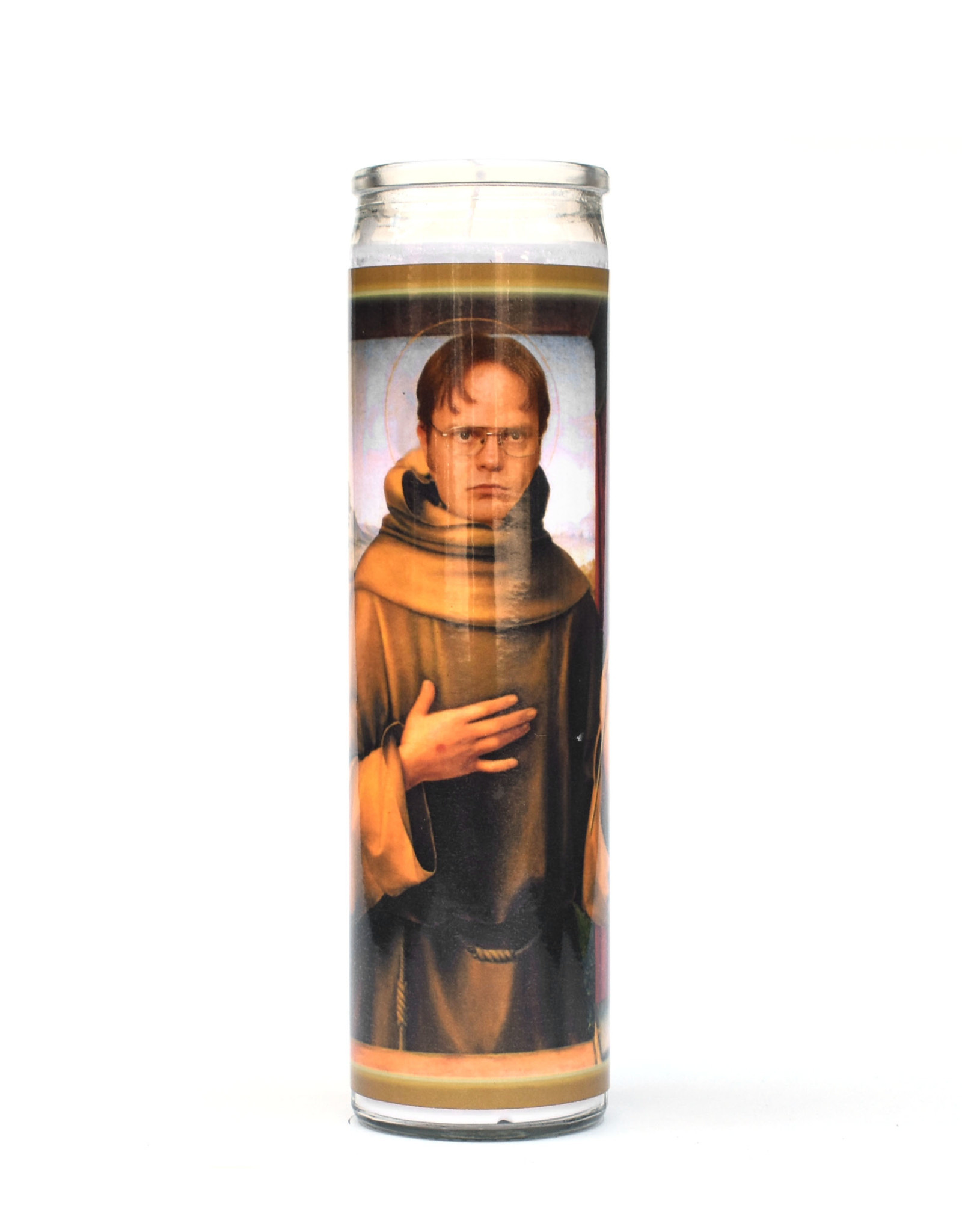 St. Dwight Schrute (The Office) Prayer Candle