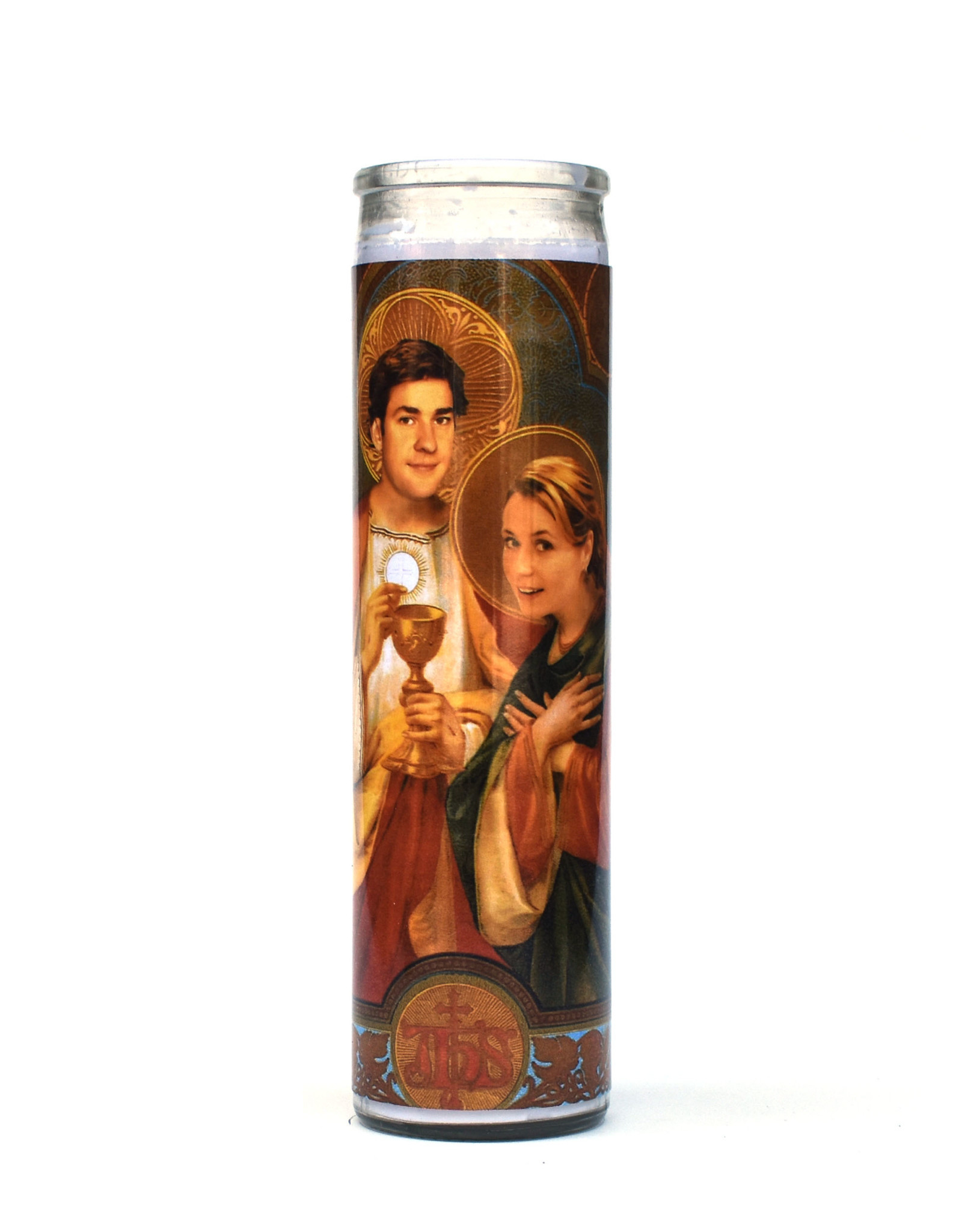 Rust Belt Cooperative St. Jim & Pam (The Office) Prayer Candle