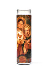 St. Dwight & Angela (The Office) Prayer Candle