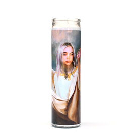 Rust Belt Cooperative St. Billie Eilish Prayer Candle