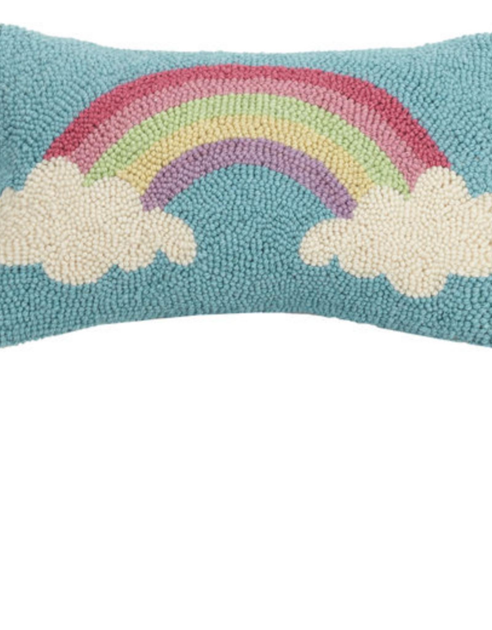 Rainbow Handcrafted Hook Pillow