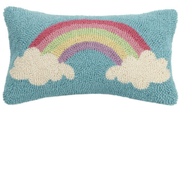 Rainbow Handcrafted Hook Pillow