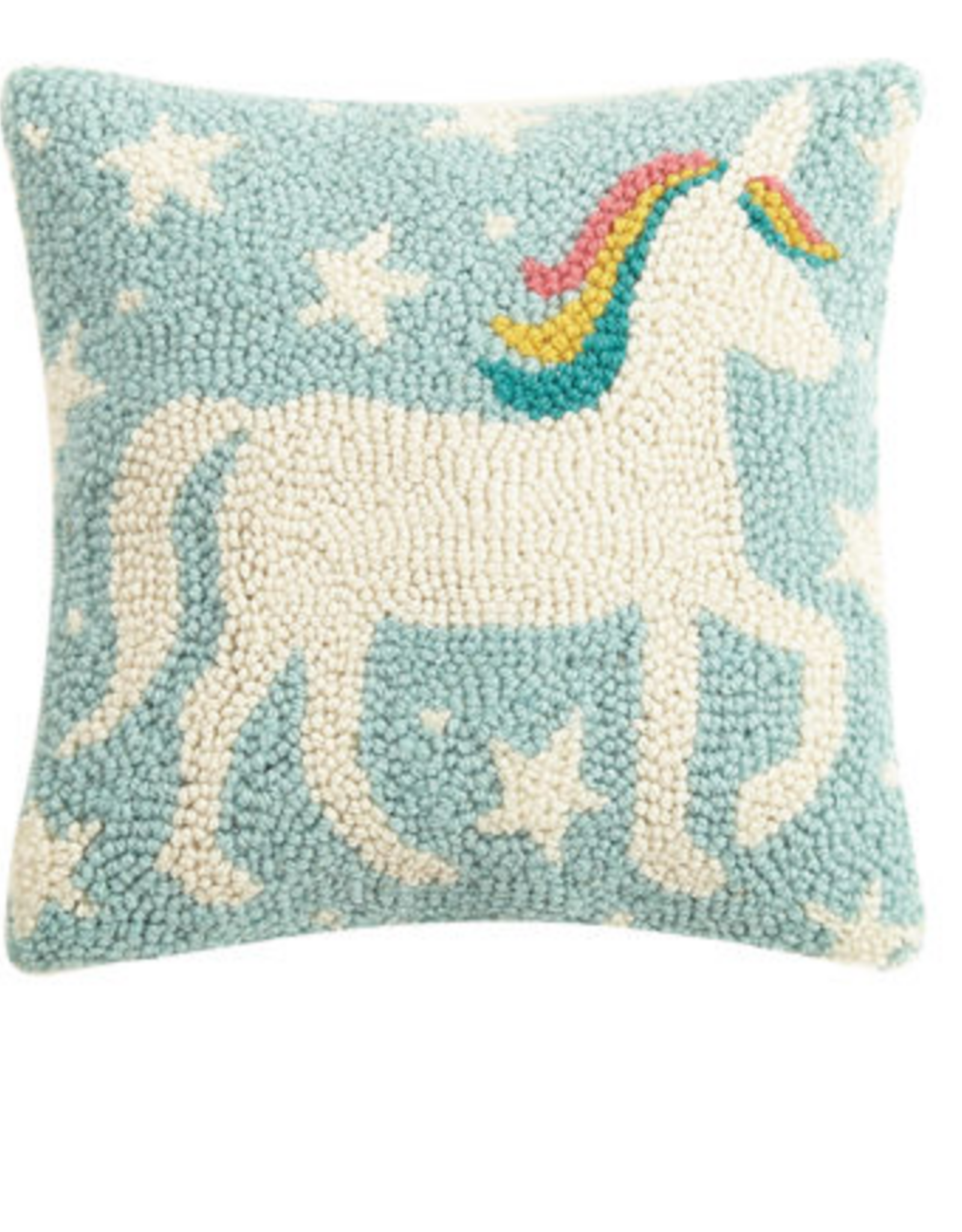 Unicorn Magic Handcrafted Hook Pillow