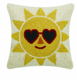 Peking Handicraft Cool Sun Handcrafted Hook Pillow