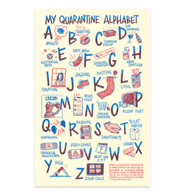 Frog & Toad Press Quarantine Alphabet Print 2nd Edition