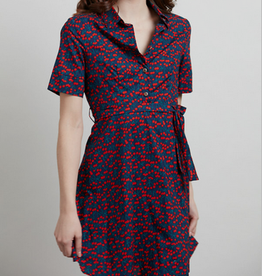 Tiny Cherries Button Up Dress