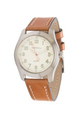 Atlas Cream/Tan Watch