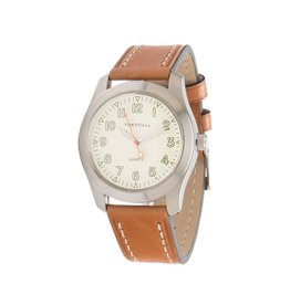 Atlas Cream/Tan Watch