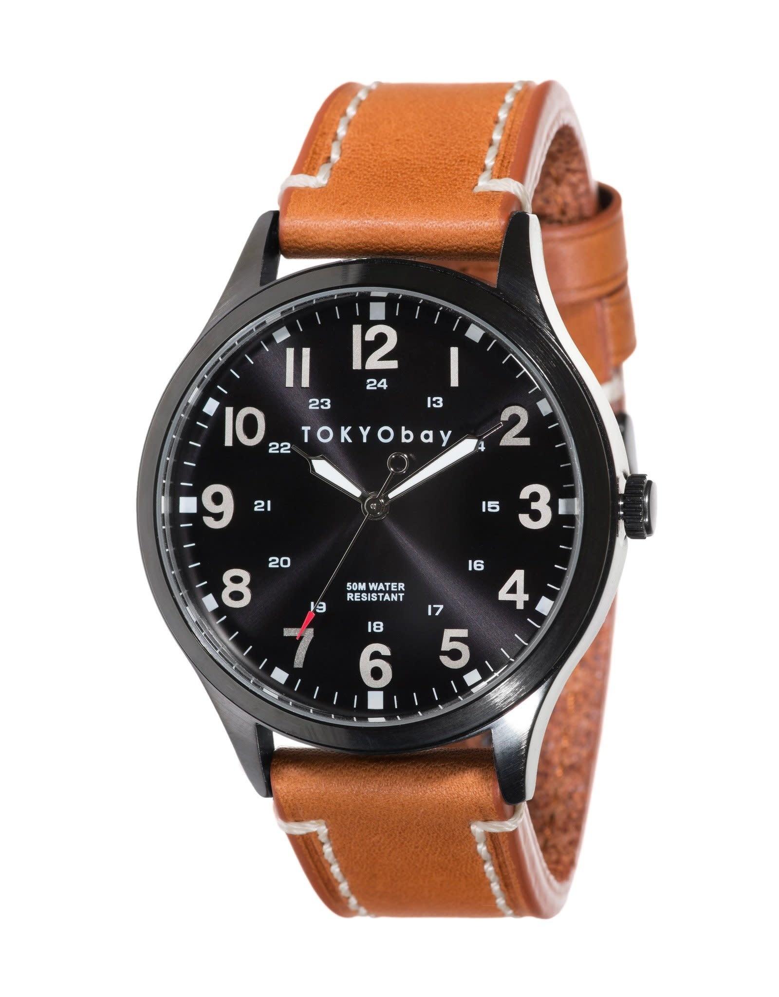 Mason Watch - Tan/Black