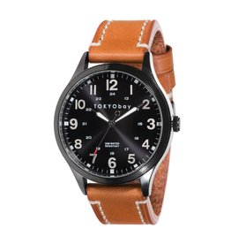 Mason Watch - Tan/Black