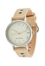 Monroe Watch - Beige