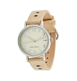 Monroe Watch - Beige