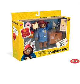 Yottoy Paddington Bear Posable Figure Playset