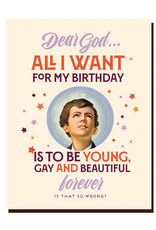 Birthday Gay Forever Greeting Card