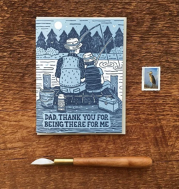 Noteworthy Paper & Press Dad, Thank You For Being There Greeting Card