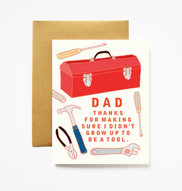 Ilootpaperie Dad Toolbox Greeting Card