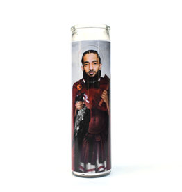Rust Belt Cooperative St. Nipsey Hussle Prayer Candle