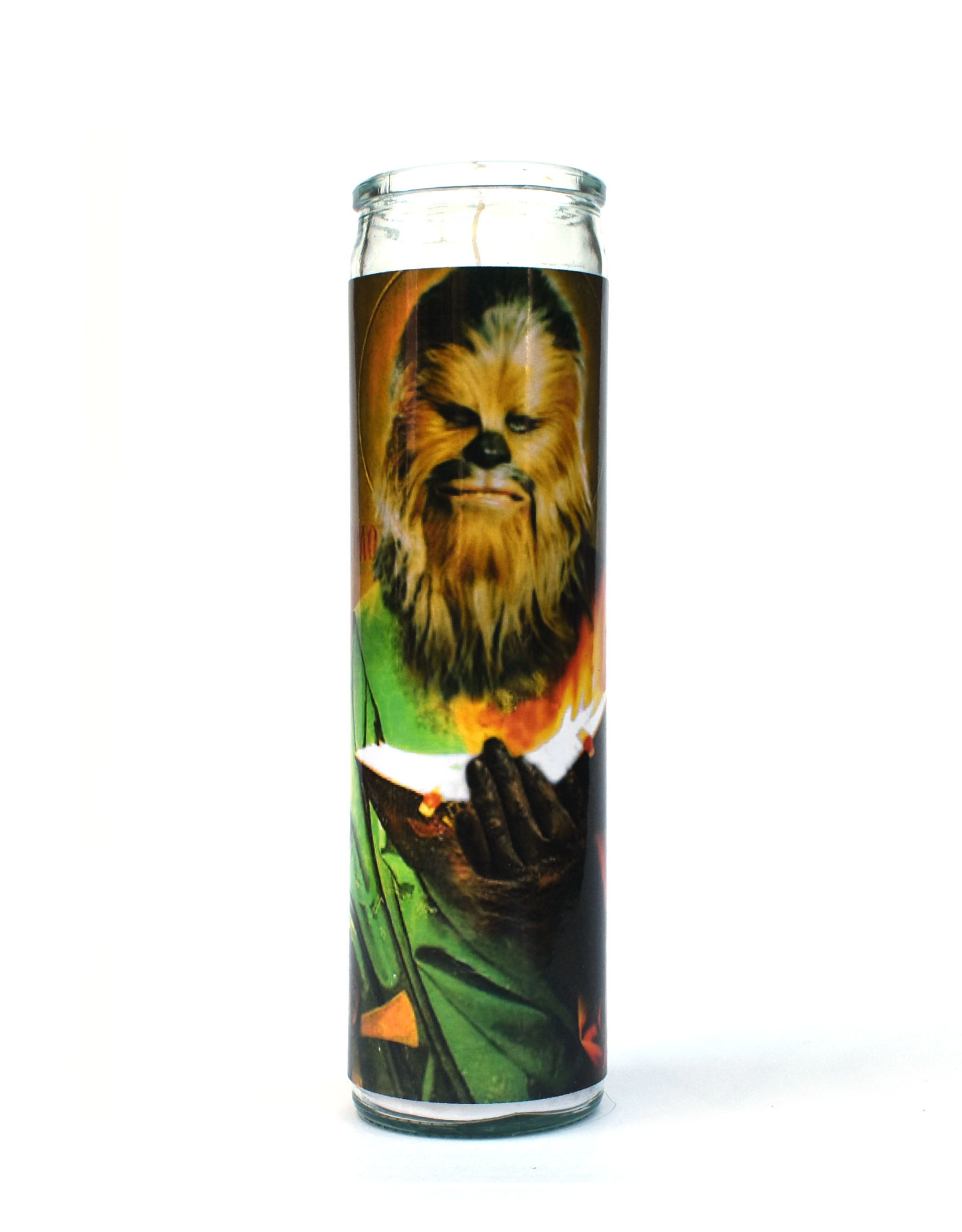 St. Chewbacca (Star Wars) Prayer Candle