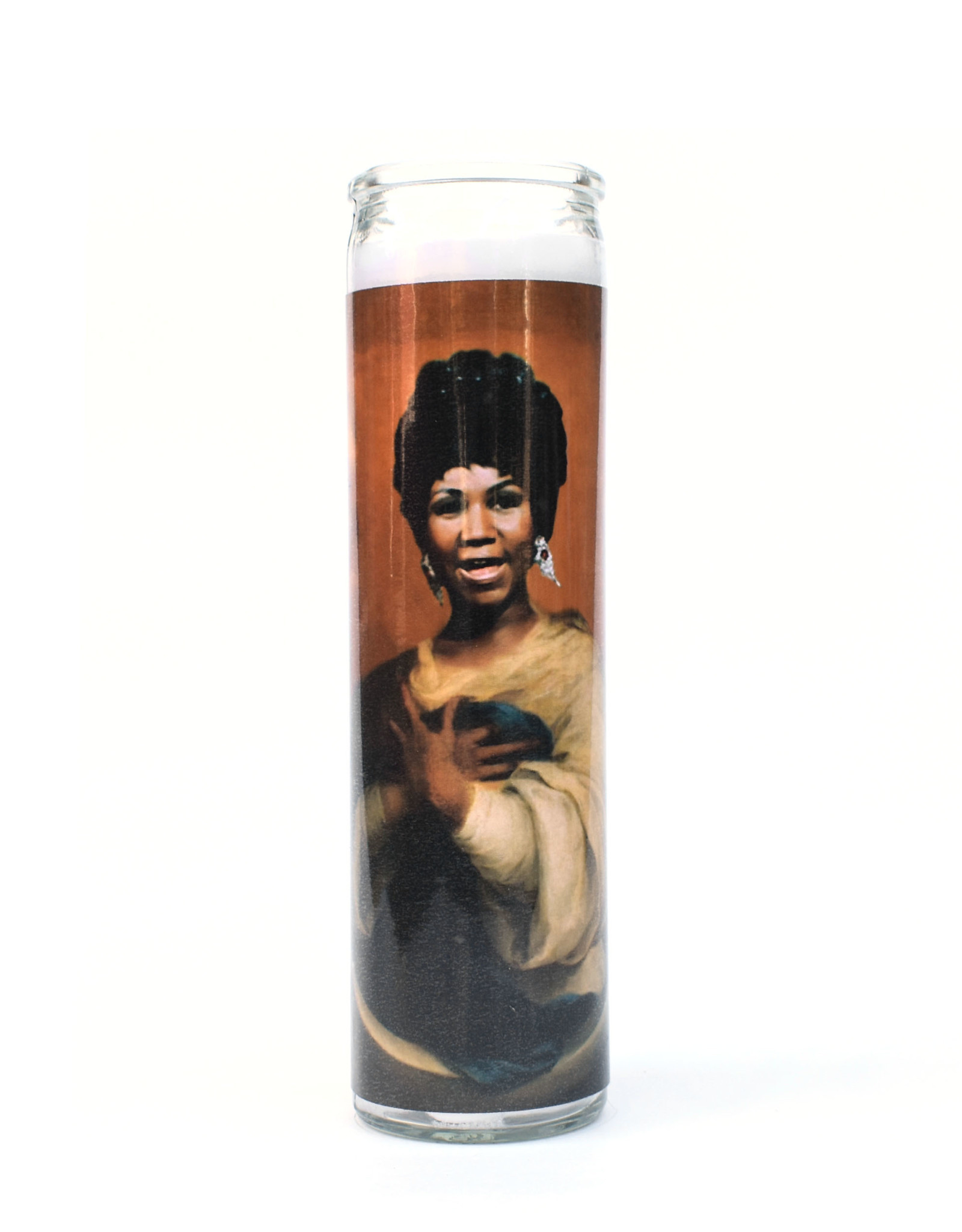 St. Aretha Franklin Prayer Candle