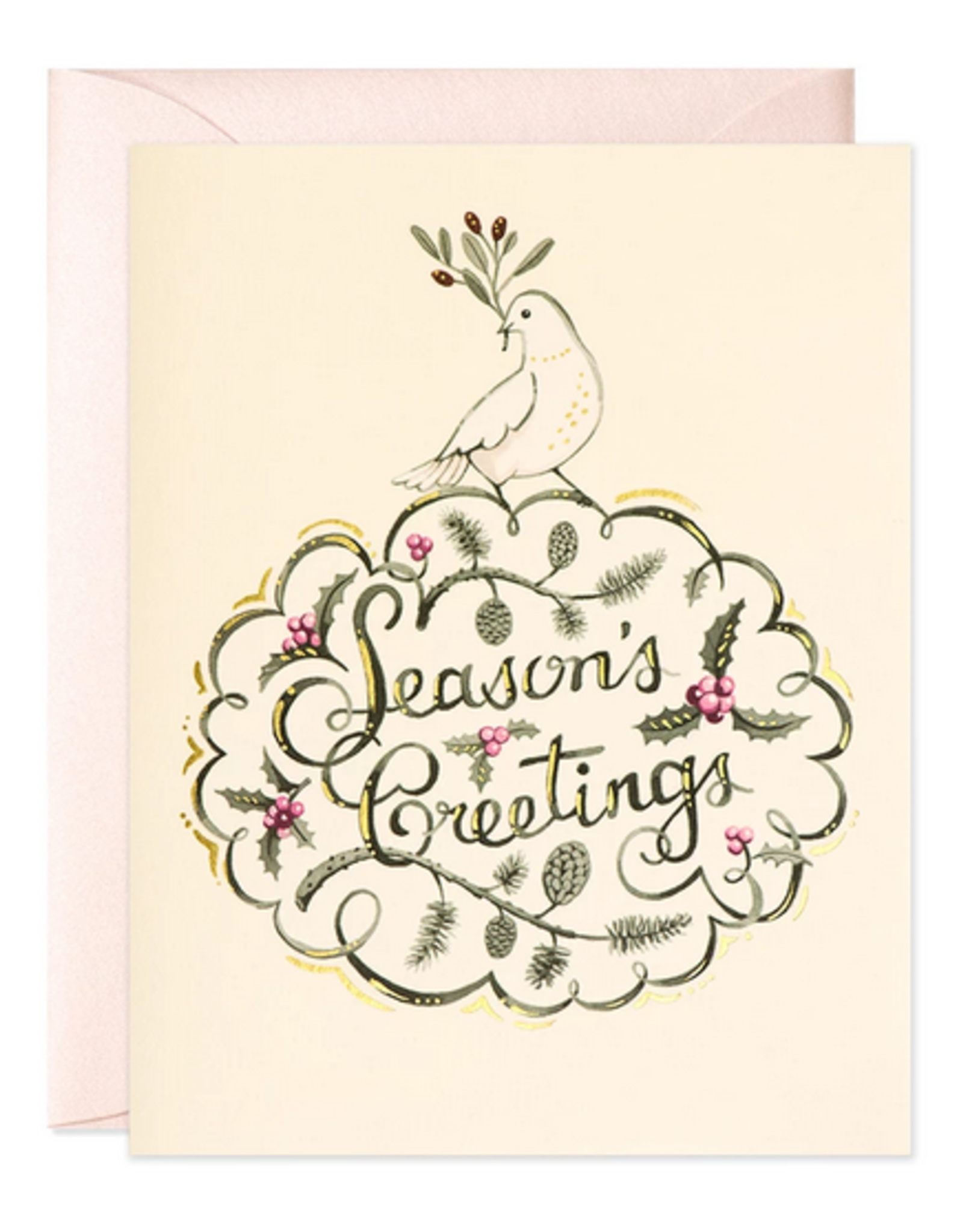 Dove Season's Greetings Holiday Card