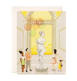 Happy Birthday (Museum) Greeting Card