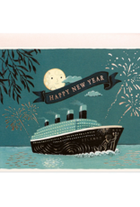 New Year Cruise Greeting Card
