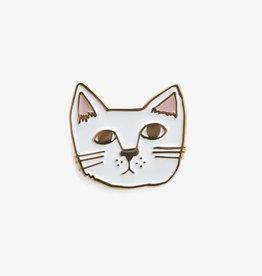 Kit Cat Enamel Pin