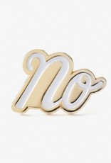 No Enamel Pin