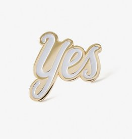 The Good Twin Co. Yes Enamel Pin