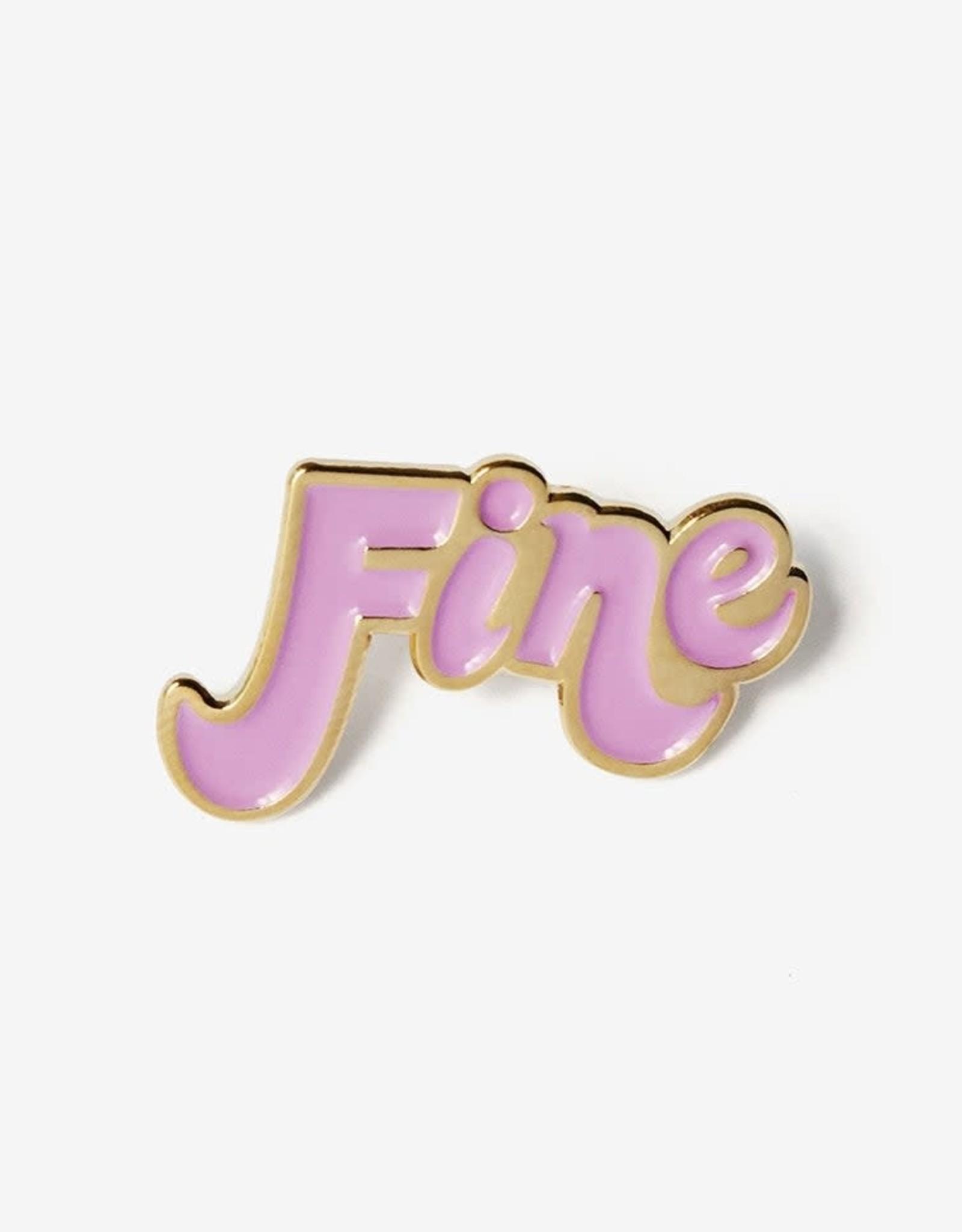 Fine Enamel Pin