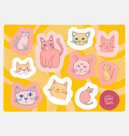 Cats Sticker Sheet