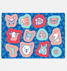 The Good Twin Co. Dogs Sticker Sheet