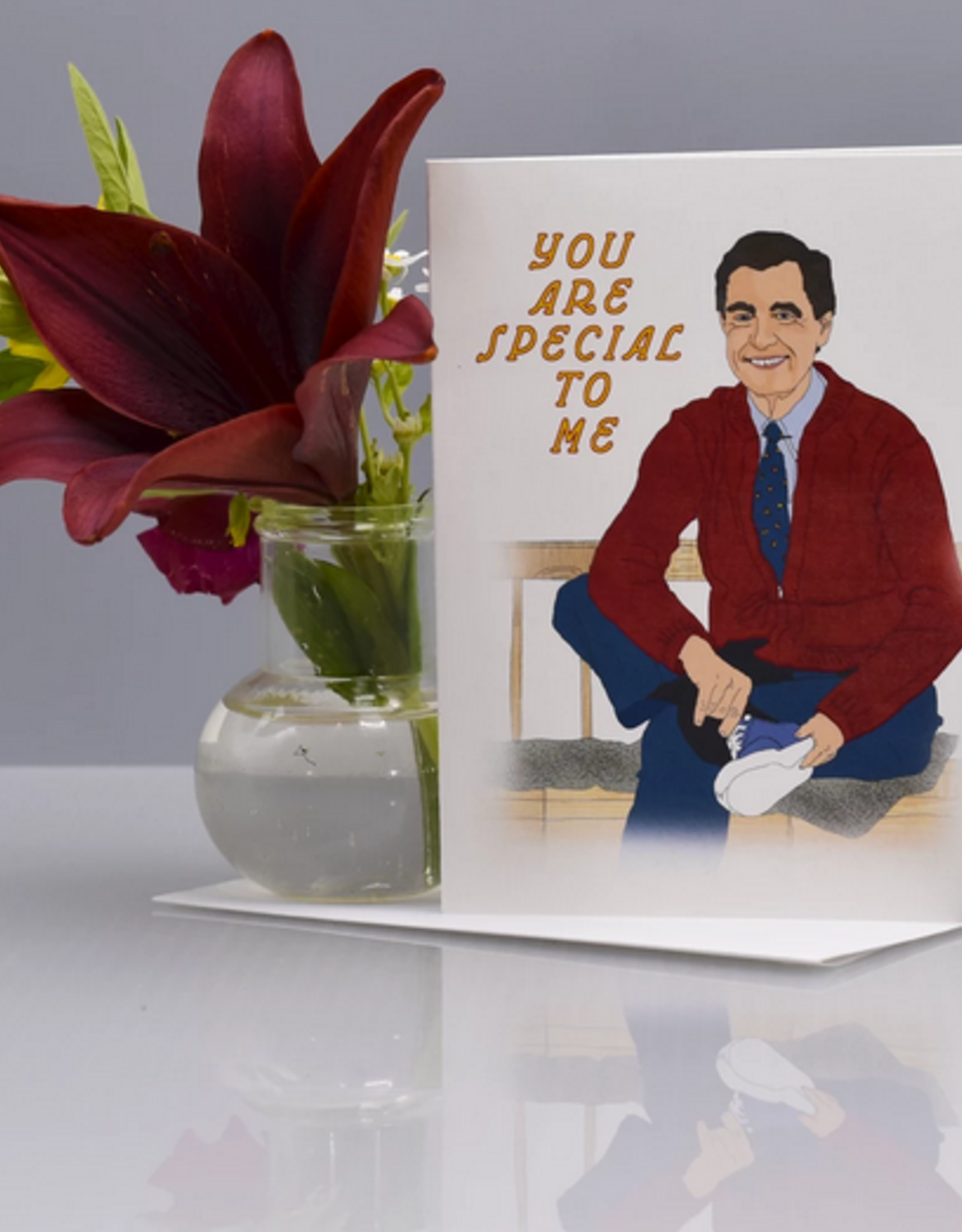 Mr Rogers You Are Special To Me Greeting Card Home