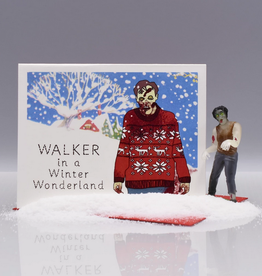 Walker in a Winter Wonderland Greeting Card