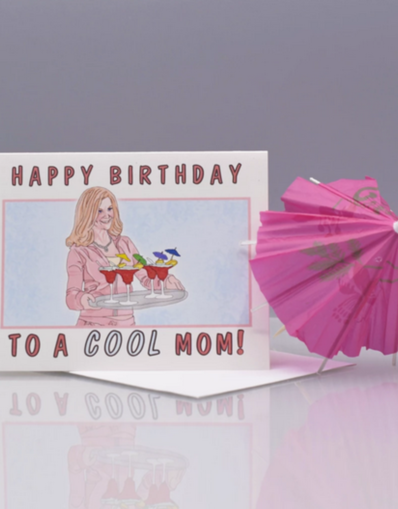 Seas and Peas Happy Birthday to a Cool Mom Greeting Card