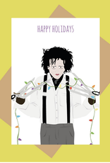 Meet Me in Shermer Happy Holidays (Edward Scissorhands) Greeting Card