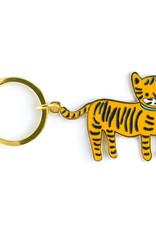 Lil Tiger Enamel Keychain