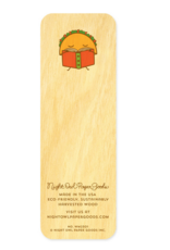 Taco Tales Wooden Bookmark & Enamel Pin Gift Set