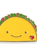Taco Tales Wooden Bookmark & Enamel Pin Gift Set