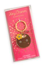 Coconut Drink Enamel Keychain
