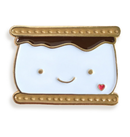 S'More Love Enamel Pin