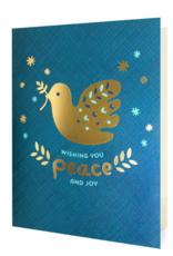 Night Owl Paper Goods Wishing You Peace & Joy Greeting Card