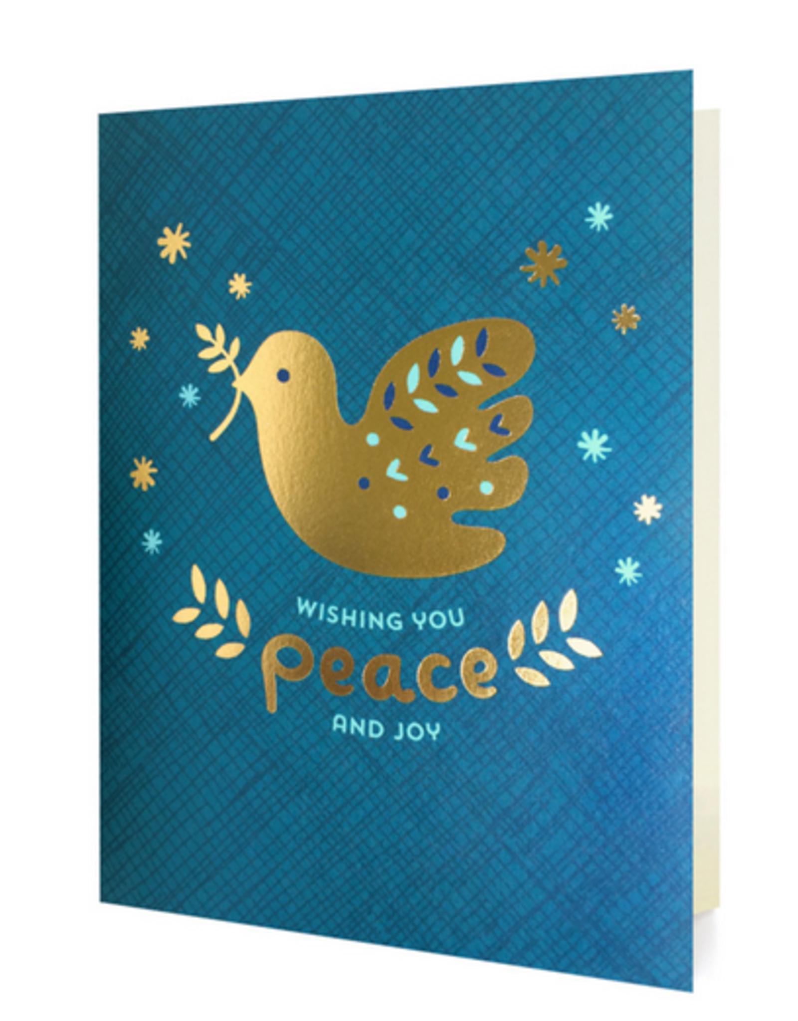 Wishing You Peace & Joy Greeting Card